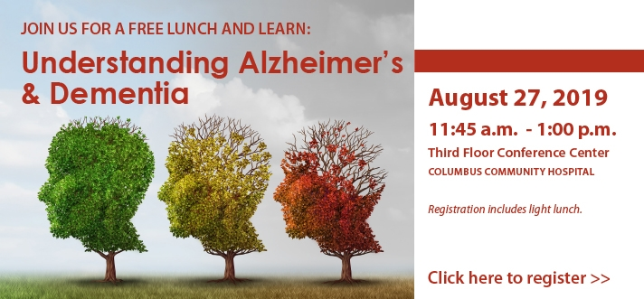 Alzheimers Lunch and Learn