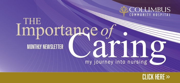 Importance of Caring Newsletter