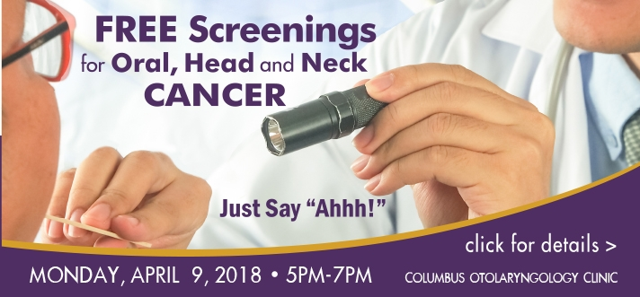 Free Head & Neck Cancer Screenings