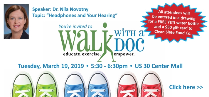 Walk with a Doc Dr Novotny