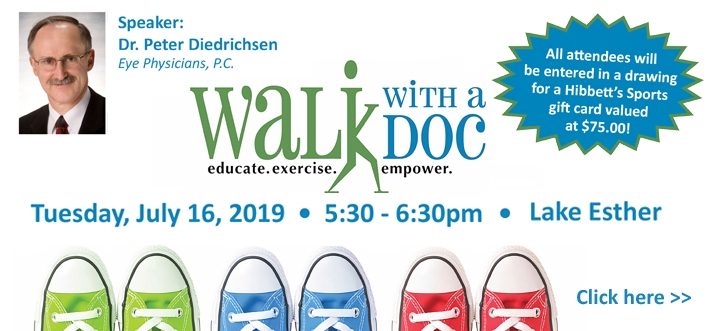 Walk with a Doc July