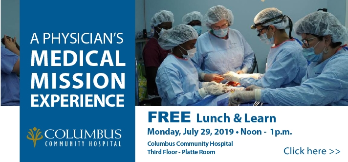 Medical Mission Lunch and Learn