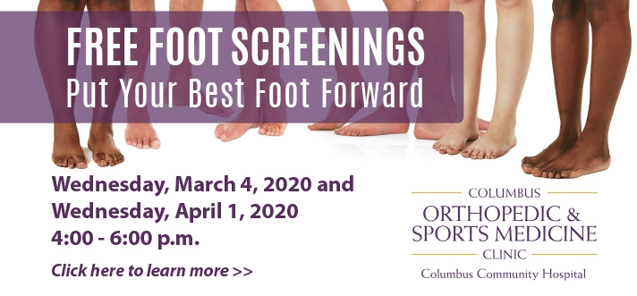 Free Foot Screening